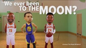 Hawks hoax theory? Players don't buy Moon Landing