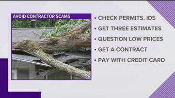 If a hurricane damages your home, here's how to avoid contractor scams