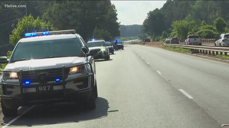 Cobb County officer shot, taken to area hospital for treatment, police say
