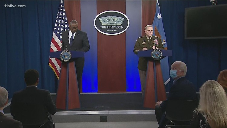 Pentagon to hold briefing on end of Afghanistan mission