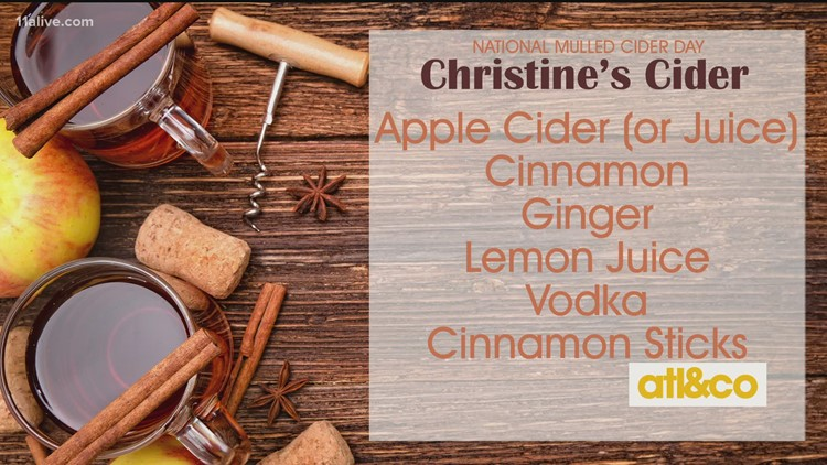 National Mulled Cider Day Recipe