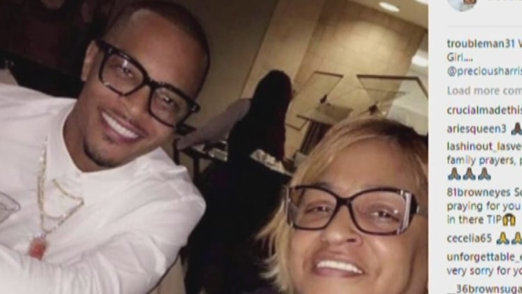 T.I.'s sister Precious Harris has died, family reports on social media