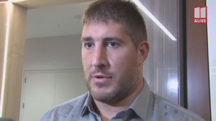 Falcons Alex Mack, Jake Matthews talk about protecting Matt Ryan