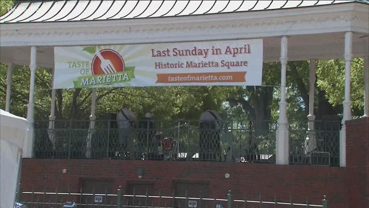 'Taste of Marietta' postponed to next year