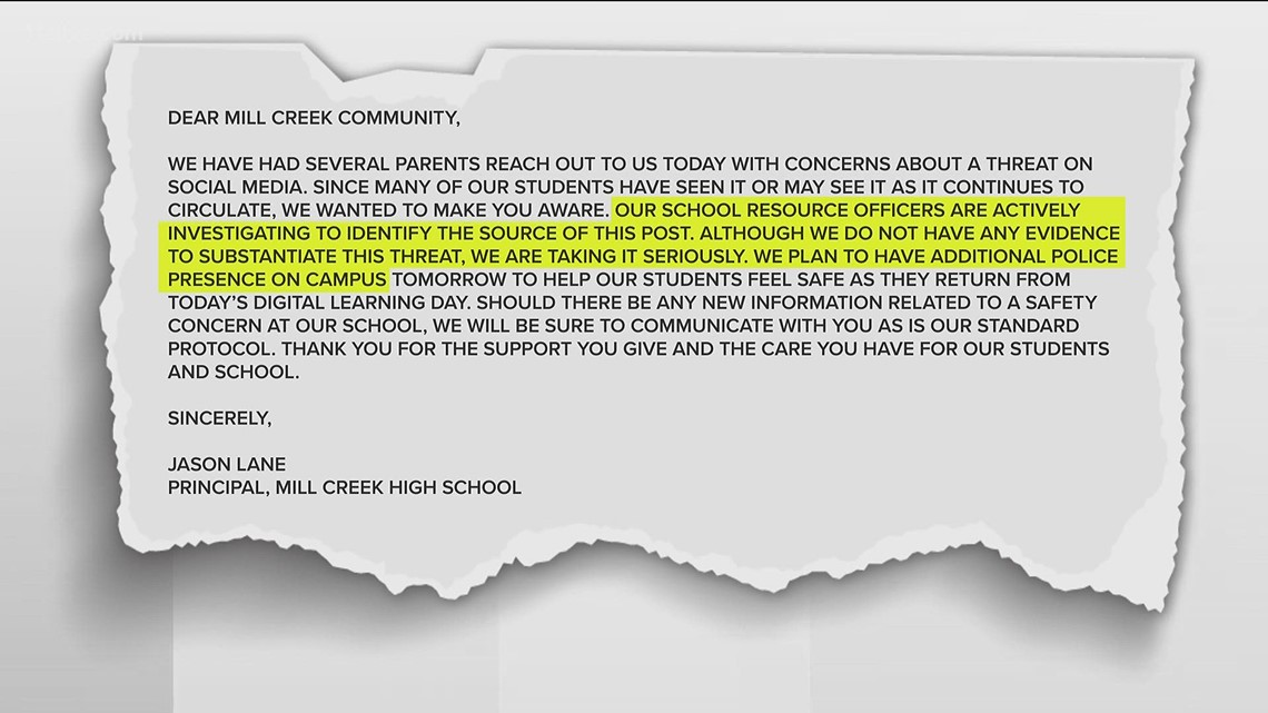 Gwinnett Schools investigating online threat