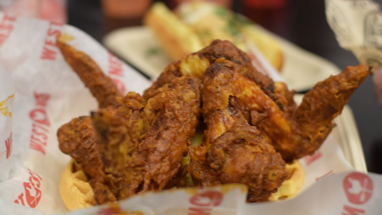 Chicken and Waffle Super Bowl 53