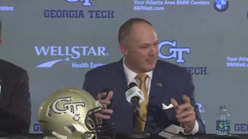 Georgia Tech names new head football coach