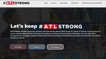 Atlanta mayor launches #ATLStrong fundraiser