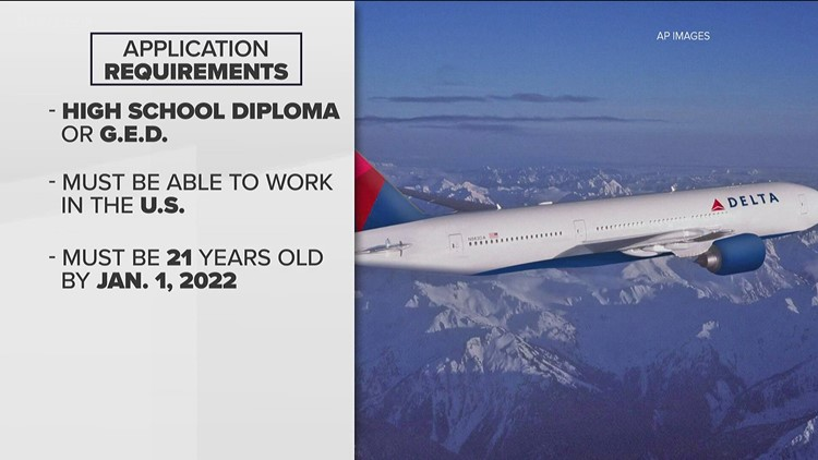 Delta Air Lines hiring 1,500 flight attendants