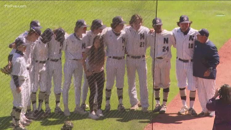 Newnan High baseball team plays at Truist Park on senior night