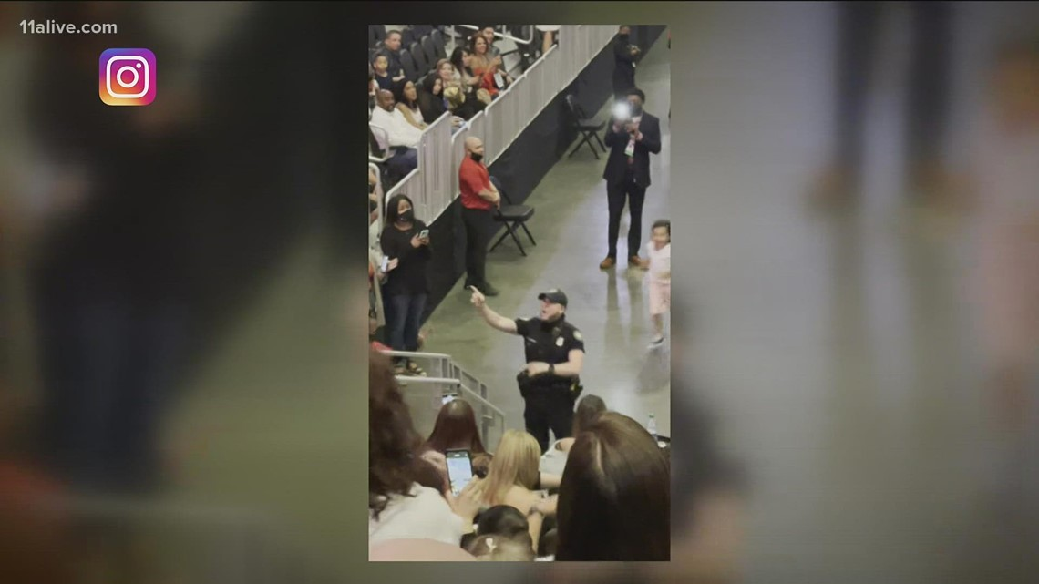 APD officer shows off dance moves in viral video during Marc Anthony concert