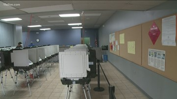 Residents across metro Atlanta can cast votes for some municipal offices
