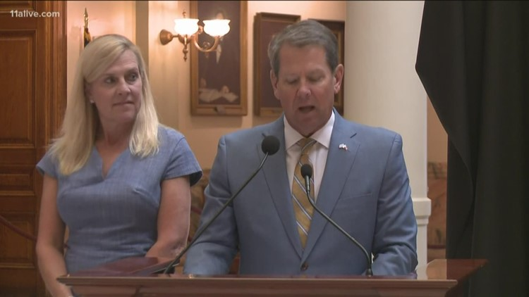 Gov. Kemp hails Georgia's naming as 'top state for business' for sixth straight year