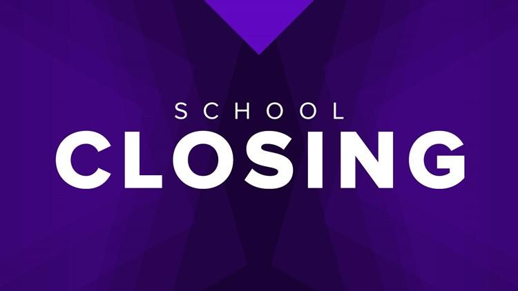 LIST | School closings, delays in north Georgia