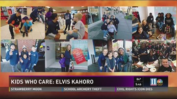 Kids Who Care: Elvis Kahoro