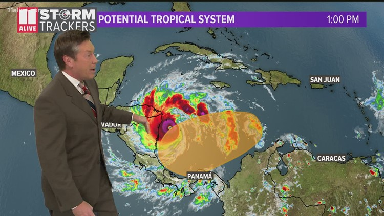 Tracking the tropics: Another system possible behind Iota