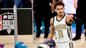 NBA All-Star Saturday   Trae Young loses Skills Challenge title ... on a half-court heave