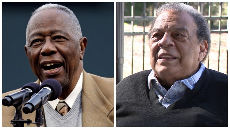 Ambassador Andrew Young remembers Hank Aaron: 'It was his spirit'