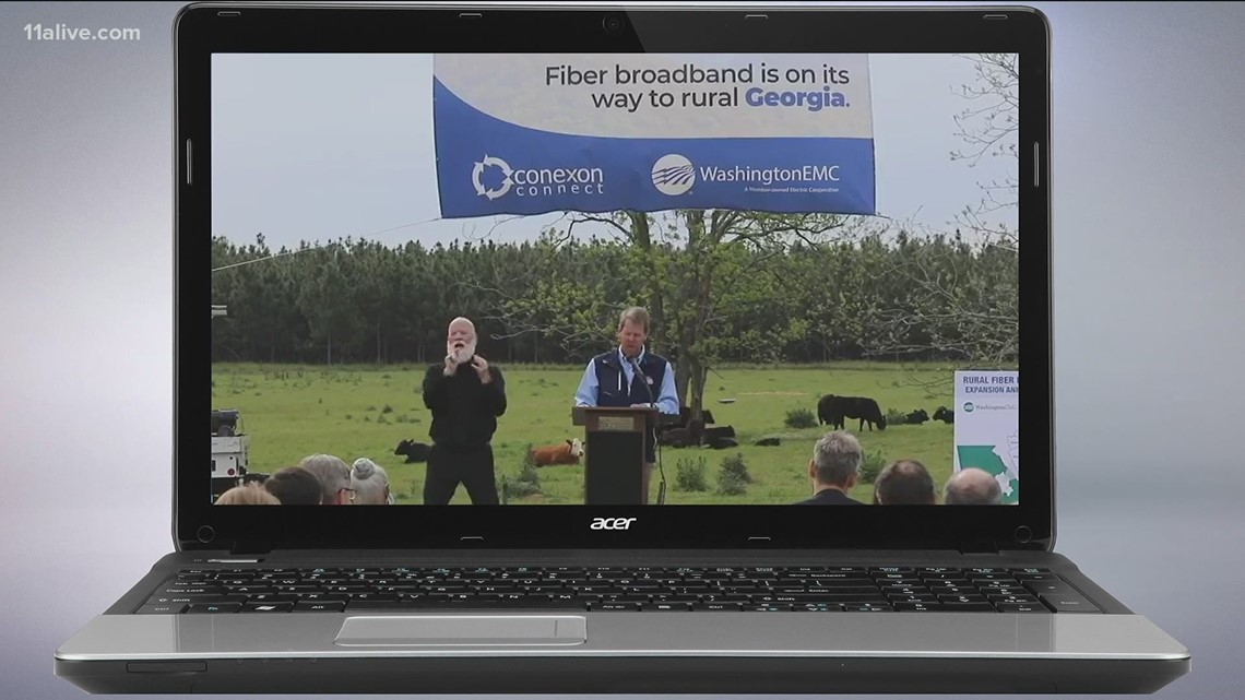 Gov. Kemp announces initiative to expand broadband access to rural Georgia