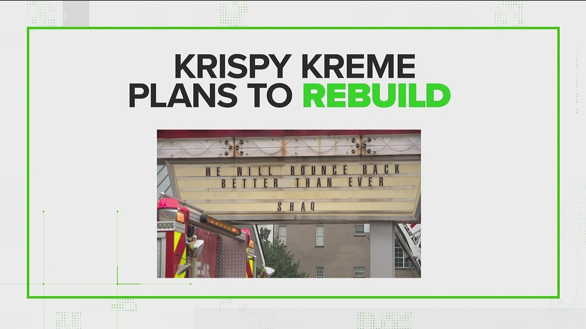 VERIFY: Yes, Atlanta's historic Krispy Kreme is being demolished, but will be back