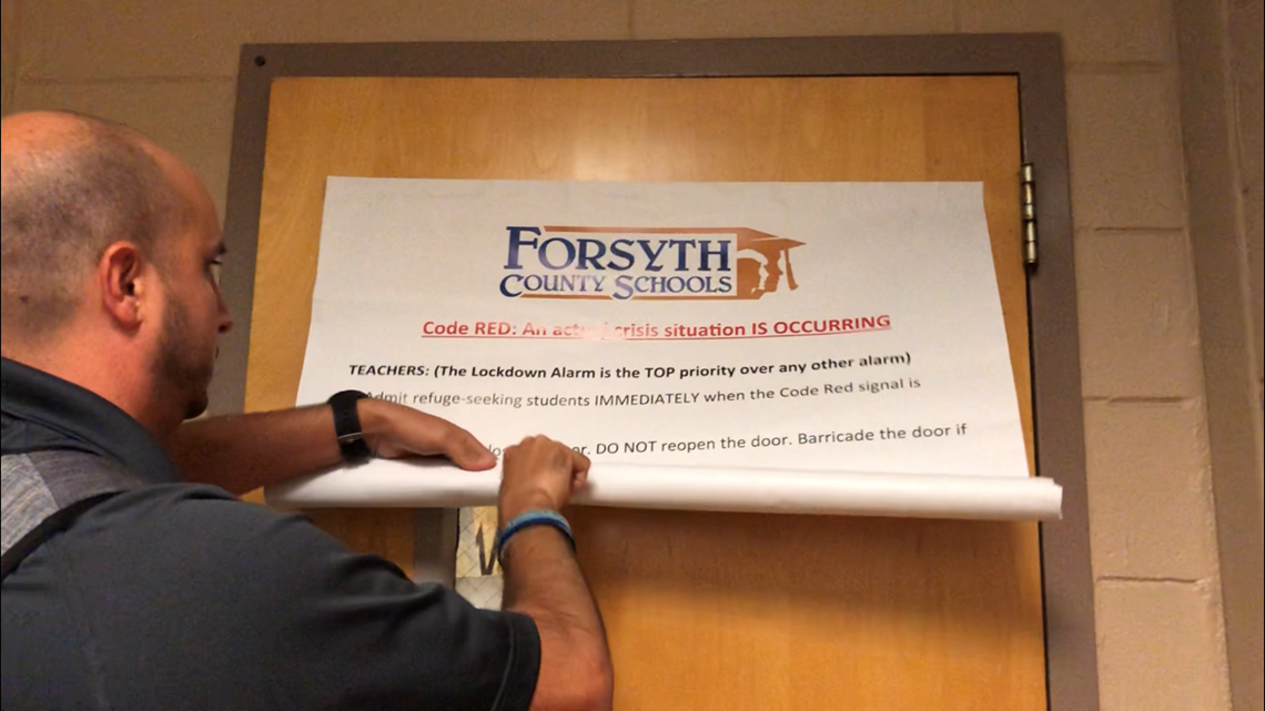 Forsyth County schools add high-tech protection after