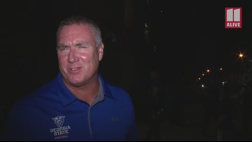 After win over Tennessee, Georgia State Panthers football coach Shawn Elliot speaks