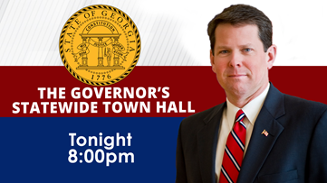 Gov. Kemp held statewide town hall