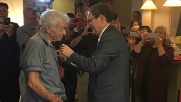 Peachtree City WWII veteran awarded France's highest honor