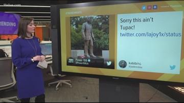 Statue of Tupac creates backlash