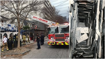 Man rescued from chimney in Midtown