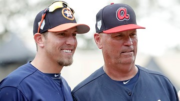 World Series features father-son showdown involving Braves manager and Astros hitting coach