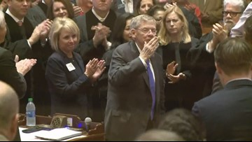 Johnny Isakson gets standing ovation at Georgia State of the State address