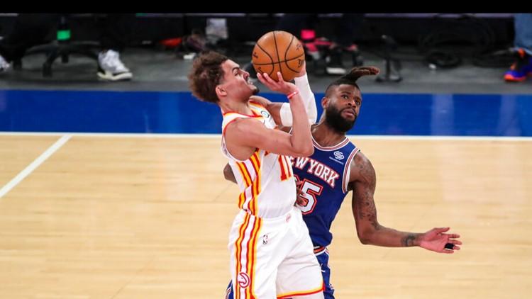 Atlanta Hawks beat New York Knicks 103-89 in Game 5