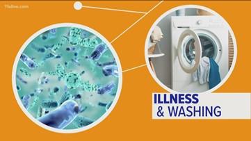 How does your washing machine affect flu season?