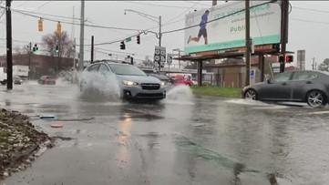 Flash flood watch in metro Atlanta in anticipation of heavy rainfall, thunderstorms
