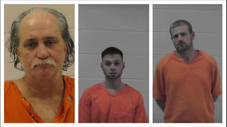 Armed men barricaded underneath Gilmer County home arrested