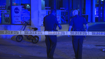 Man wounded in shooting on Auburn Avenue