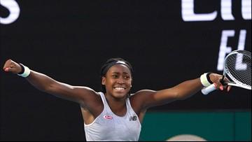 Coco Gauff beats last year's champion to advance at Australian Open