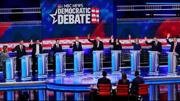 Here's how you can get a ticket to the Democratic debate in Atlanta