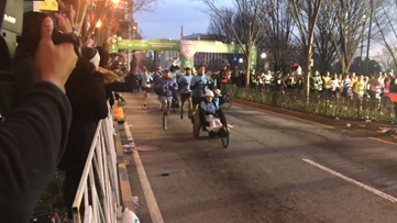 Thousands of runners hit the streets for the Publix Atlanta Marathon