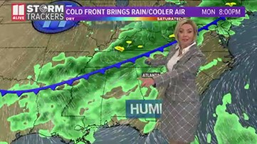 Evening forecast for July 22, 2019