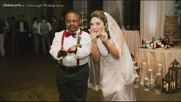 Baldwin County special education teacher includes students in wedding