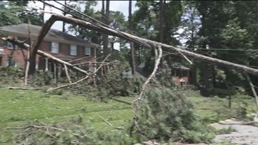 Cleanup begins in Gwinnett County
