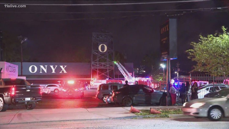 Fire breaks out at Onyx nightclub