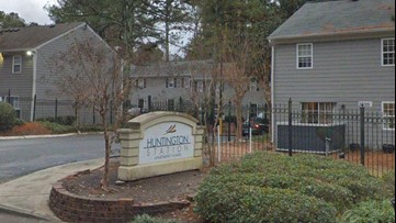 Woman found shot at Chamblee apartment complex off of I-85
