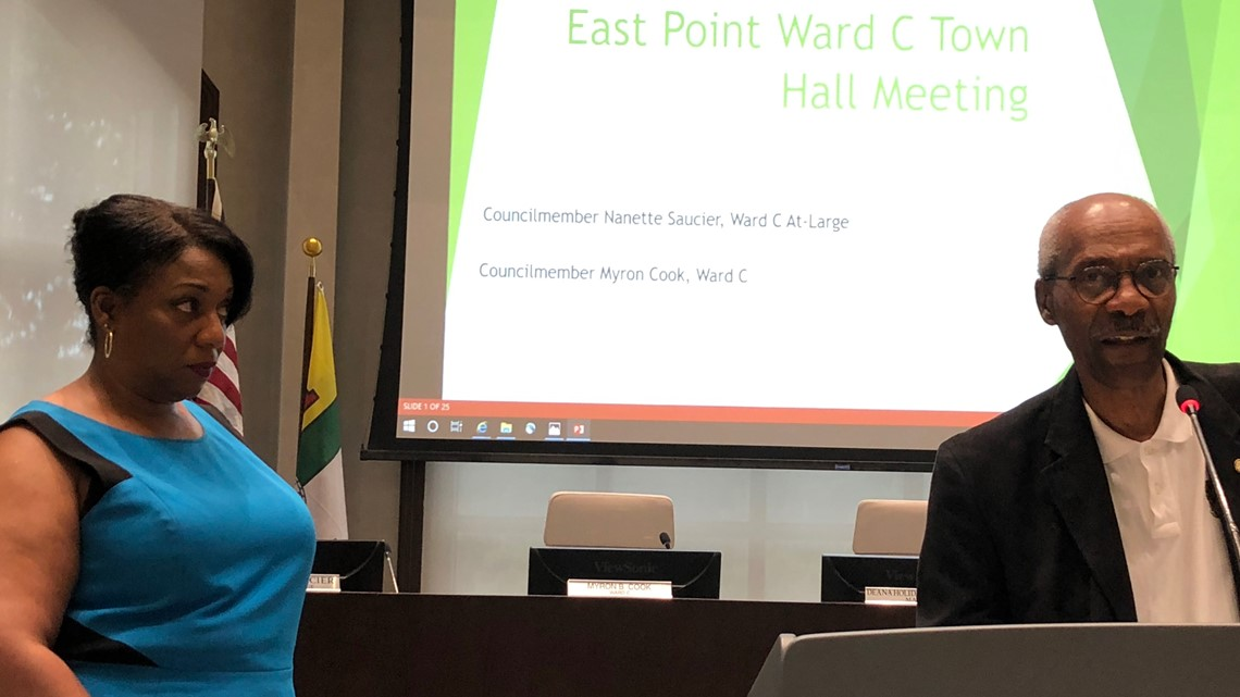 East Point town hall updates city projects