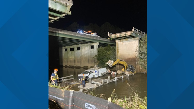 1 dead after bridge collapses during dismantle process, sheriff's office says