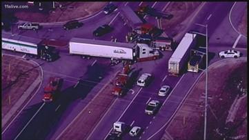 1 dead in crash involving tractor trailer in Fulton County