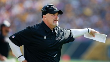 Falcons' coach Dan Quinn gives Super Bowl tickets to family of fallen Marine