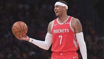 Hawks karma? Rockets dump Carmelo Anthony ... after 'Melo forces trade from Atlanta
